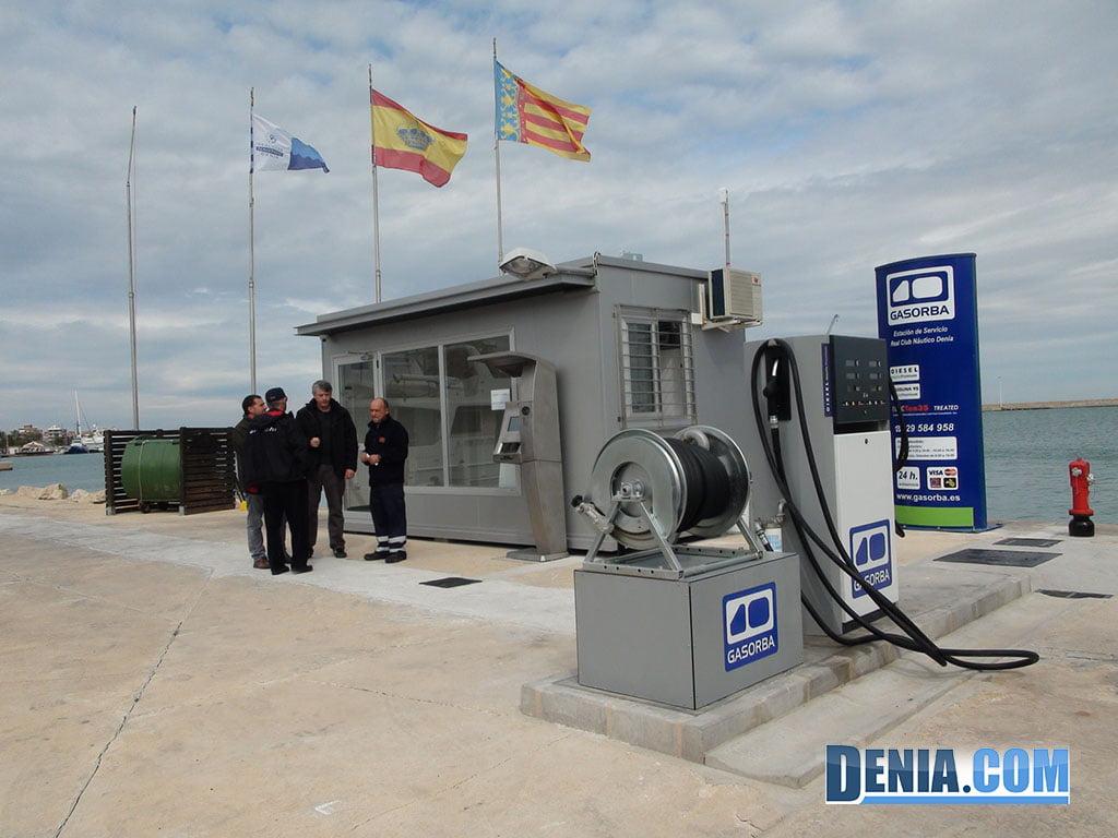 Estació de servei nàutica Gasorba a RCND