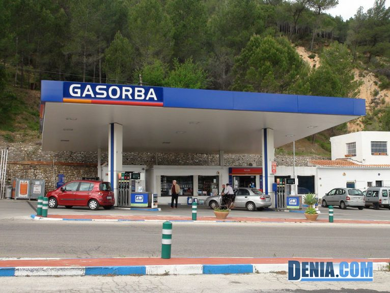 Gasorba, Gasolinera