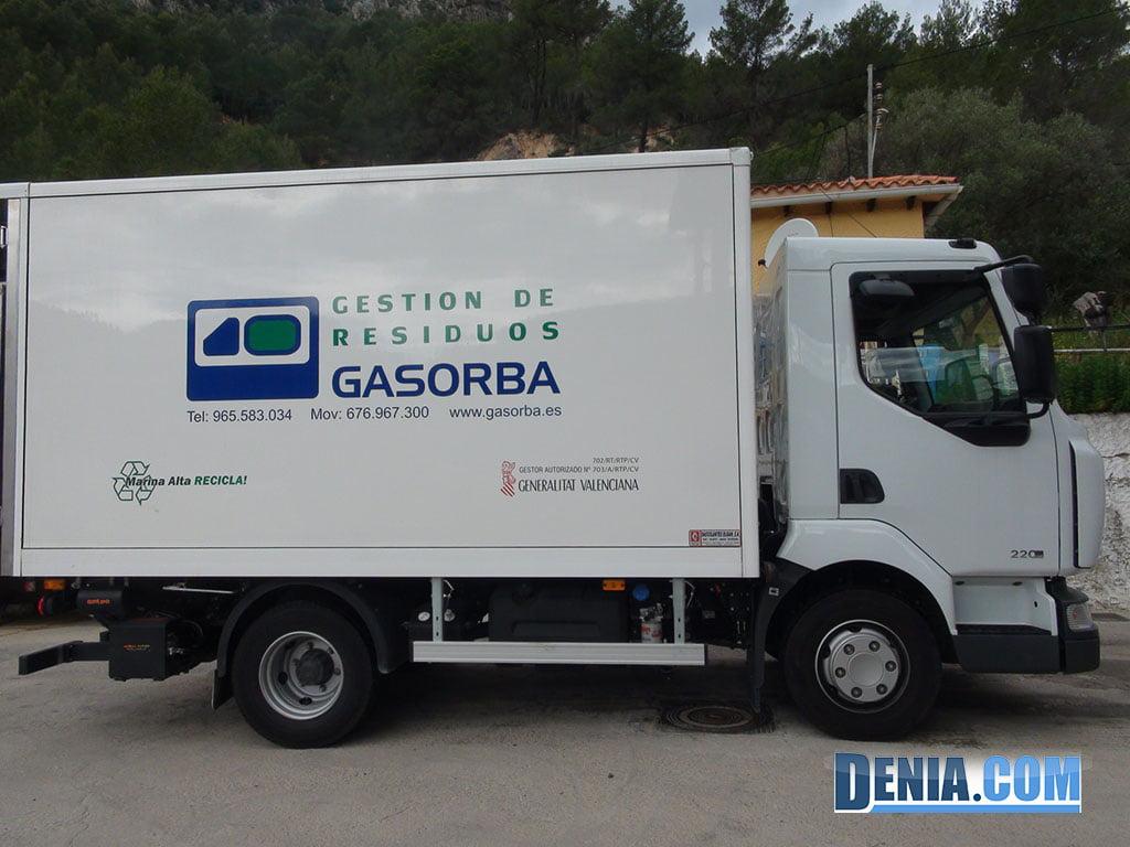 Gasorba, tractament de Residus