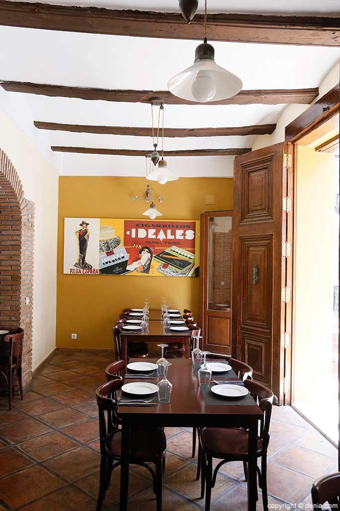 Interior Sevillana Tavern
