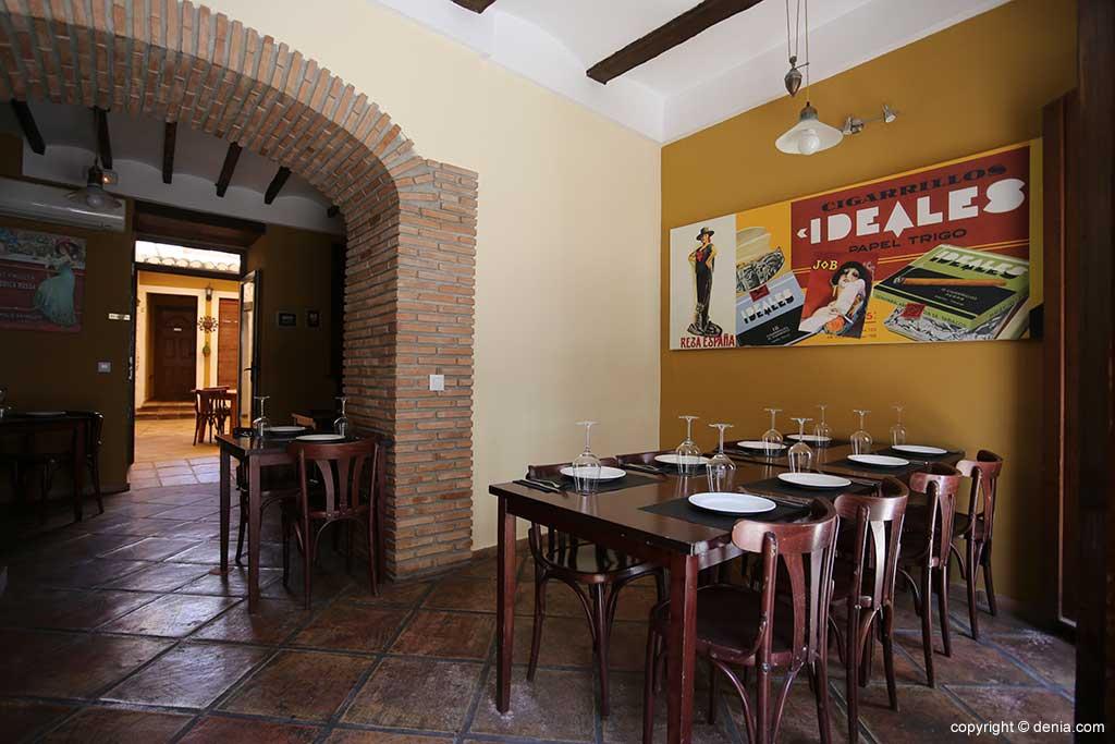 Tables Sevillana interior