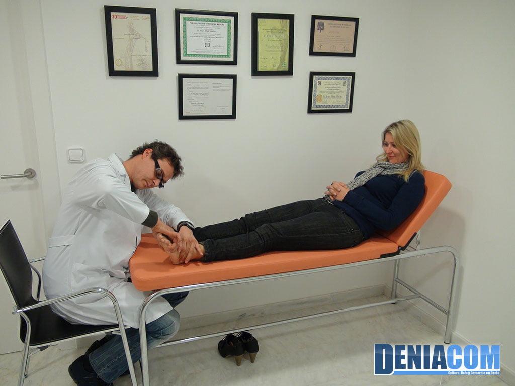 Comprovació moviment del peu en PodoDénia