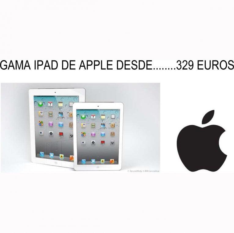 Gama ipad Apple en Pineda Dénia