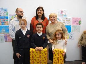Ganadores del Concurso de Dibujo Navideño de Marina Salud