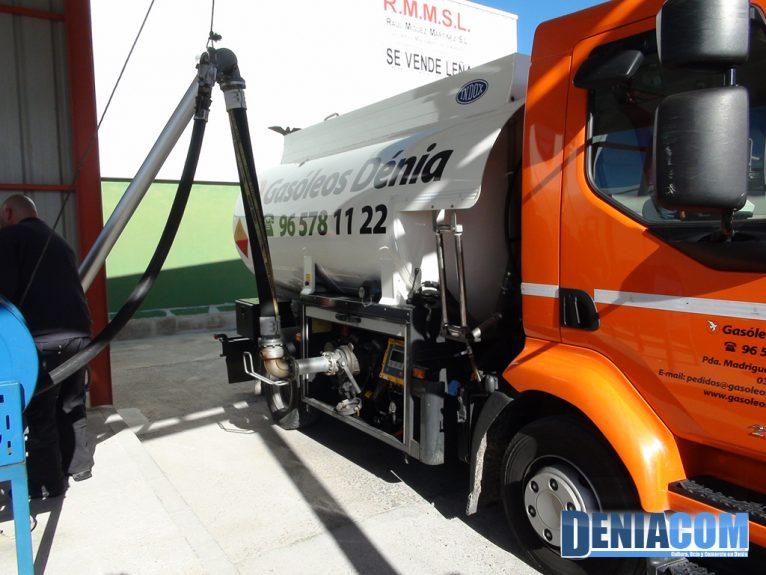 Repostaje de Camiones en Gasóleos Dénia
