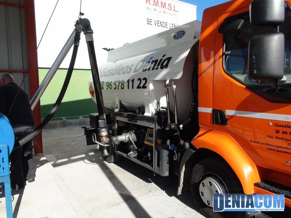 Proveïment de Camions en Gasoils Dénia