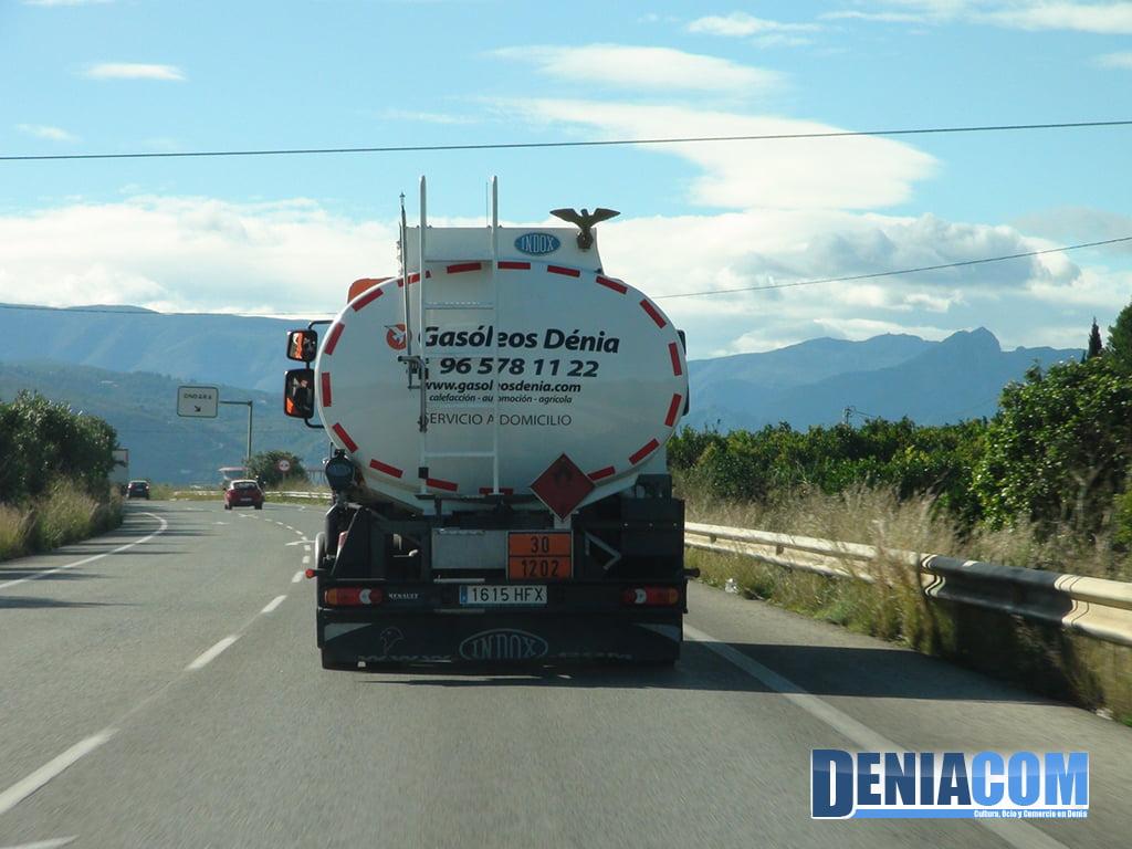 Servei a Domicili de Gasoil en Gasoils Dénia
