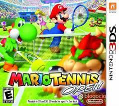 Sorteo Cyber Arena Games, MarioTennis Open para Nintendo DS