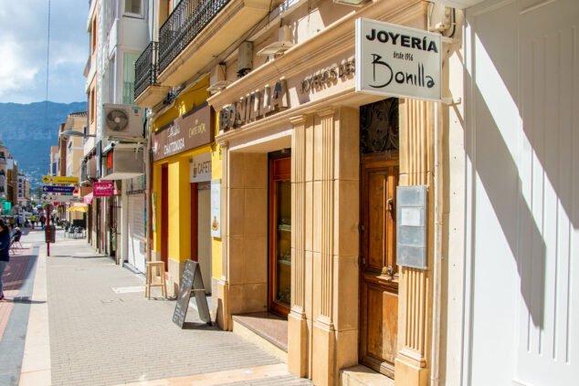 Imagen: Exterior de Joyería Bonilla