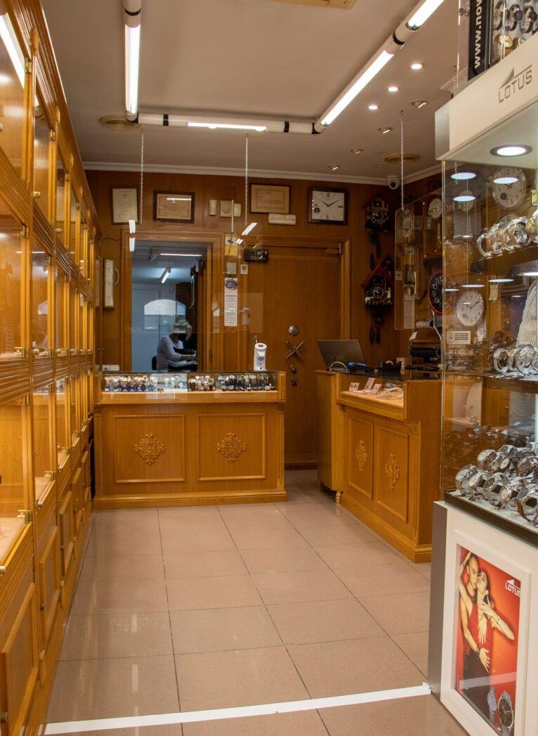 Interior de Joyería Bonilla