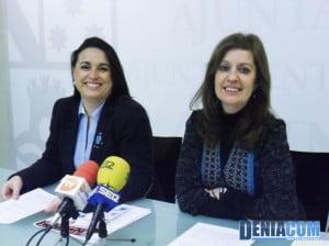 Isabel Gallego y Susana García