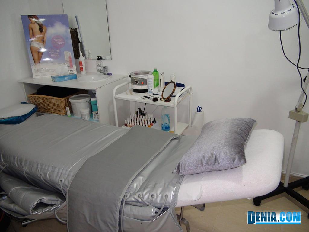 Cabina de tratamiento Centro de Estética Guaraná