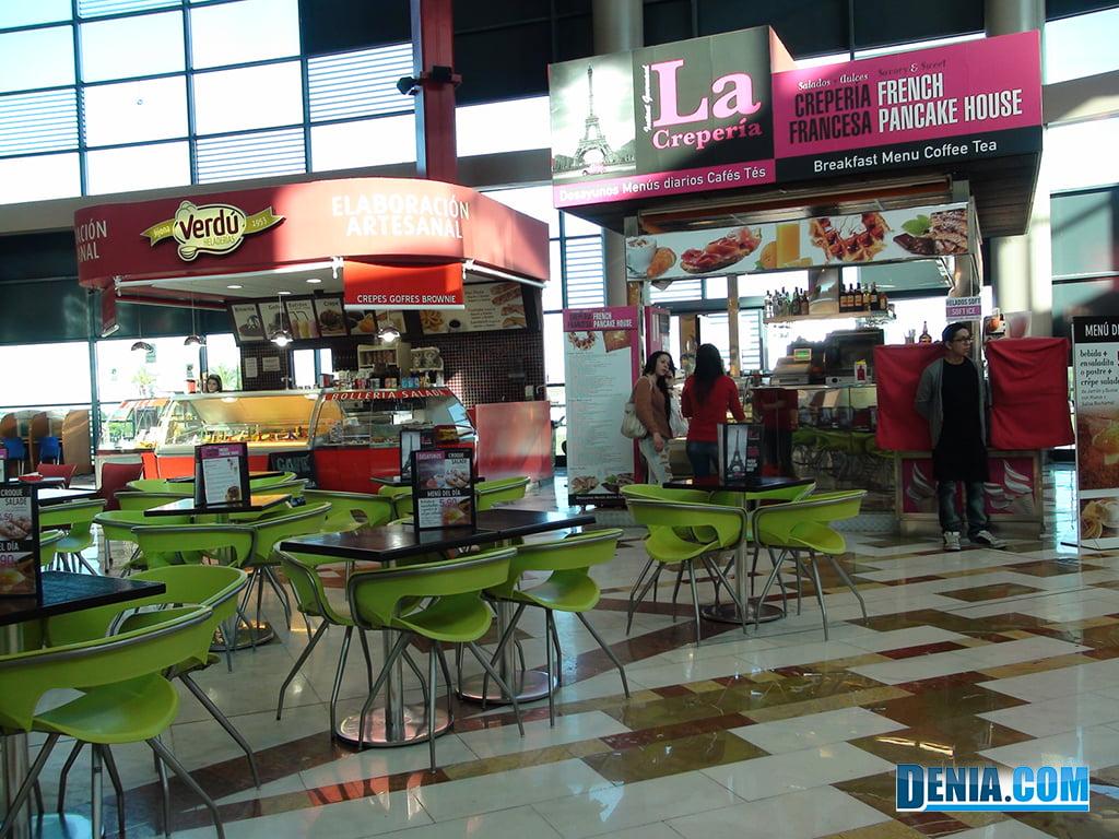 Centre Comercial Portal de la Marina, Oferta d'Dolços i Salats