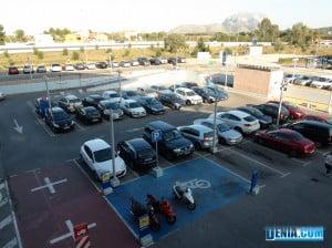 Centro Comercial Portal de la Marina, Parking exterior