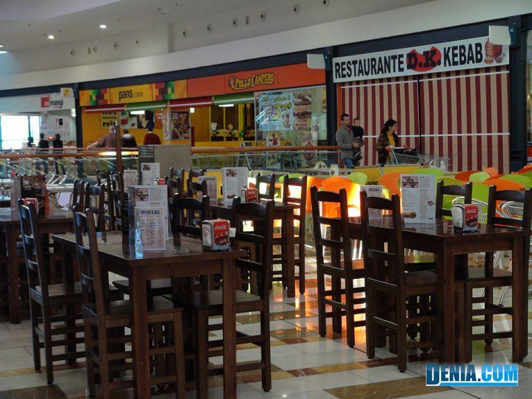 Centre Comercial Portal de la Marina, Restaurants per a tots els gustos