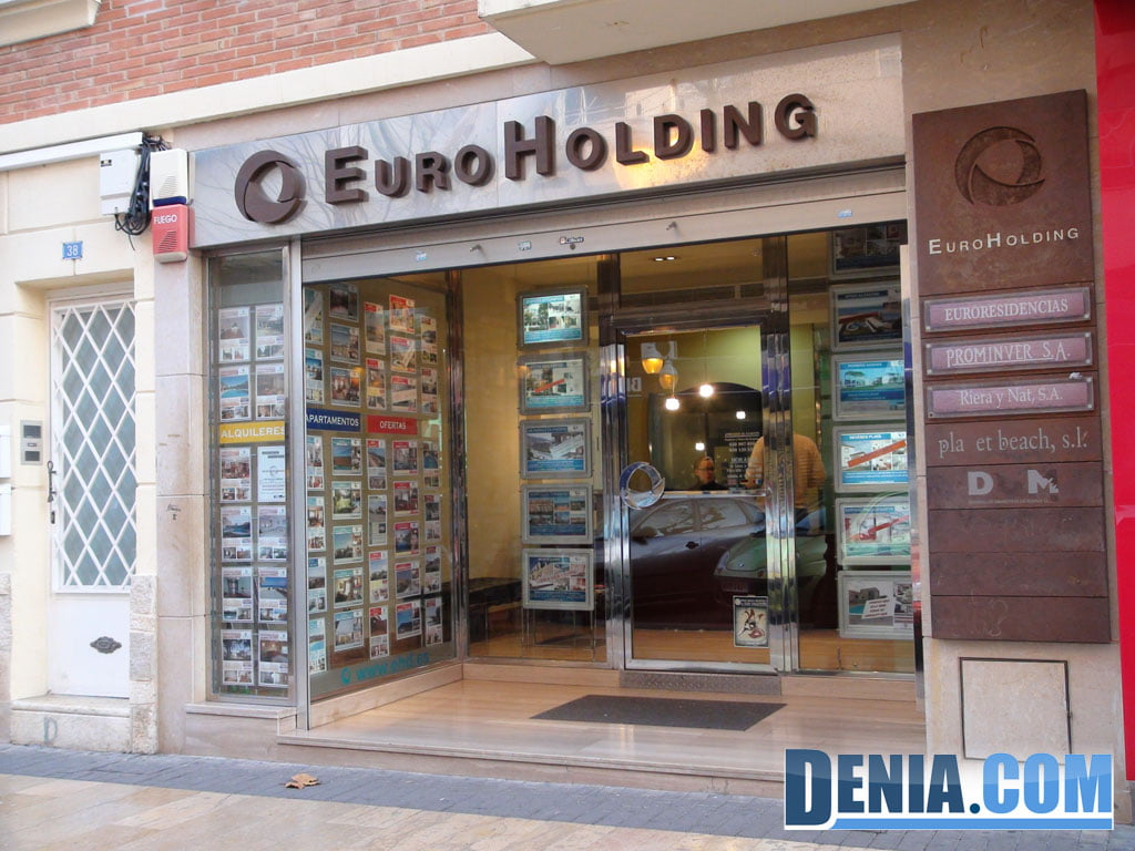 Real estate Euroholding in Dénia