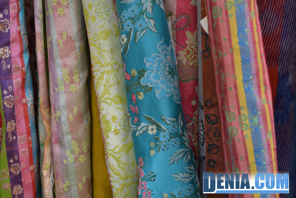 L'Espolí - Fabrics for fallera suit in Dénia