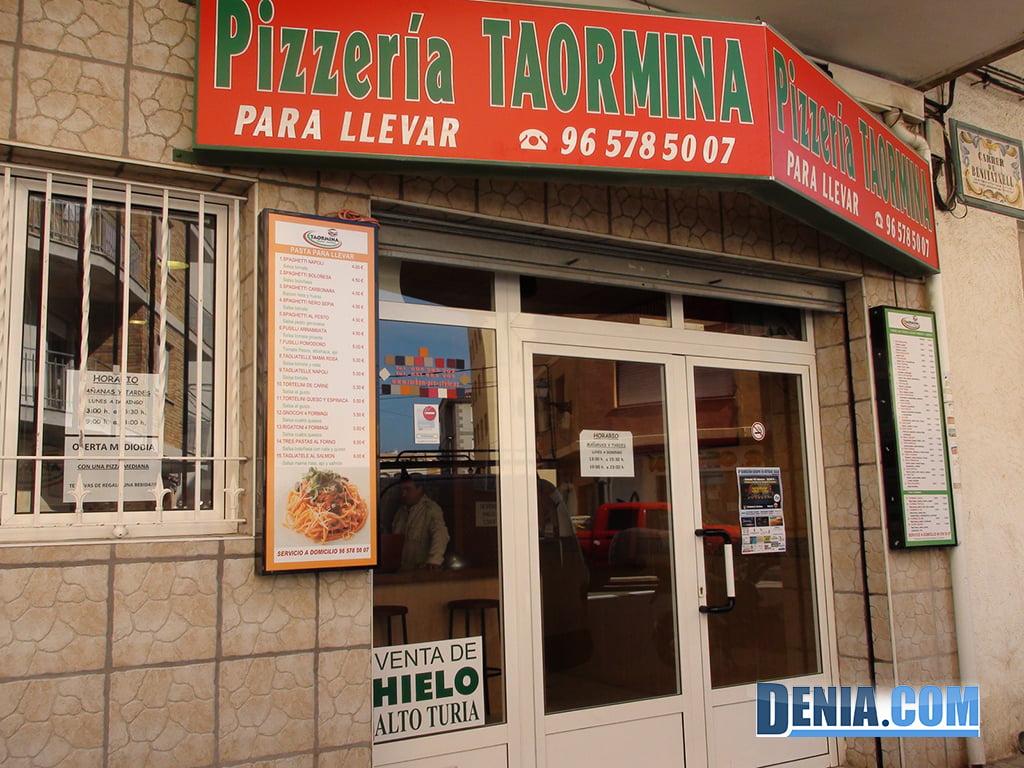 Pizzería Taormina Fachada