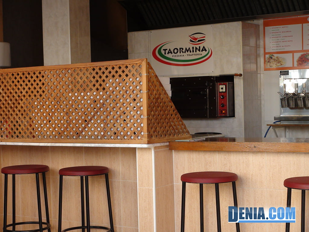 Pizzería Taormina en Dénia