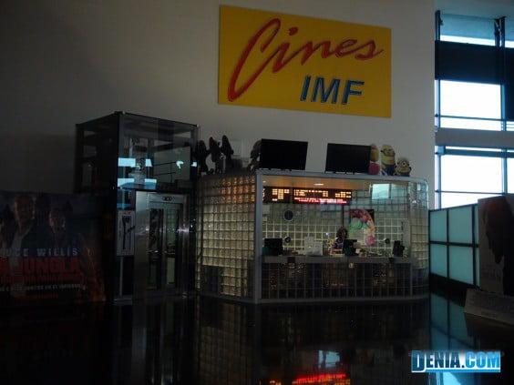 Portal de la Marina Cines IMF- Taquillas
