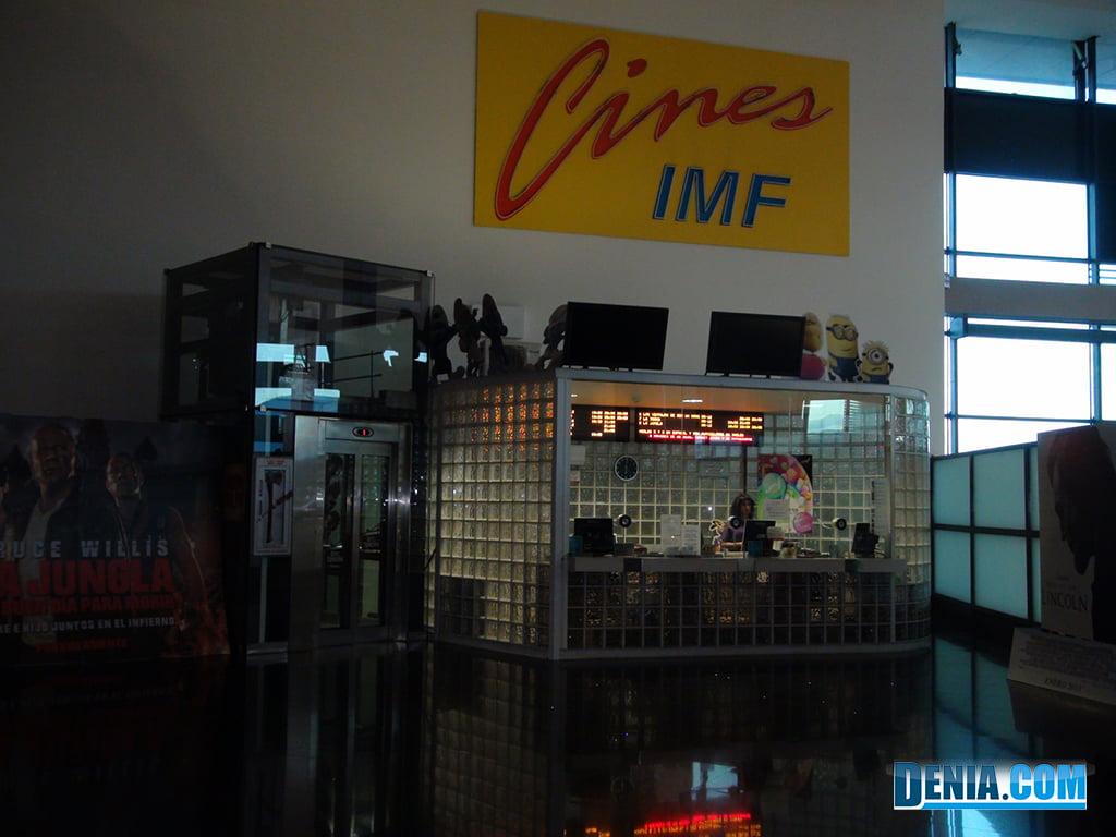 Portal de la Marina Cinemes IMF- Taquilles