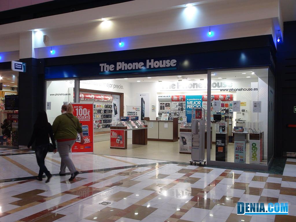 Portal de la Marina-Tiendas para tu ocio-Telefonía movil - Dénia.com