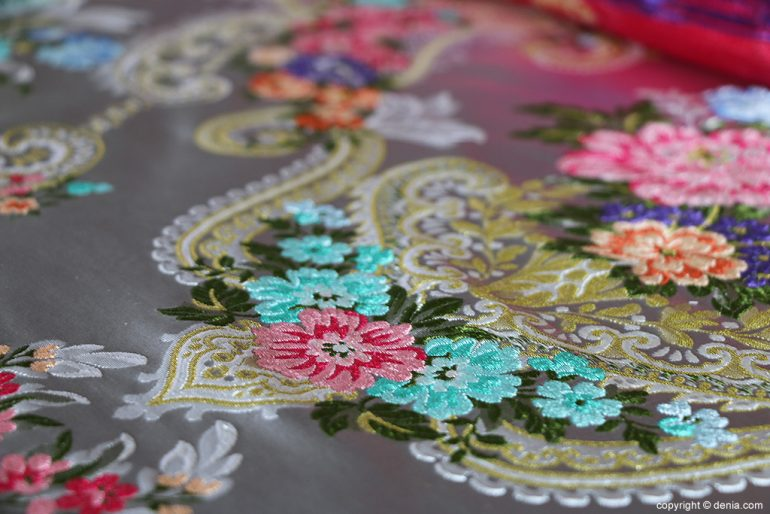 L'Espolí fabric details