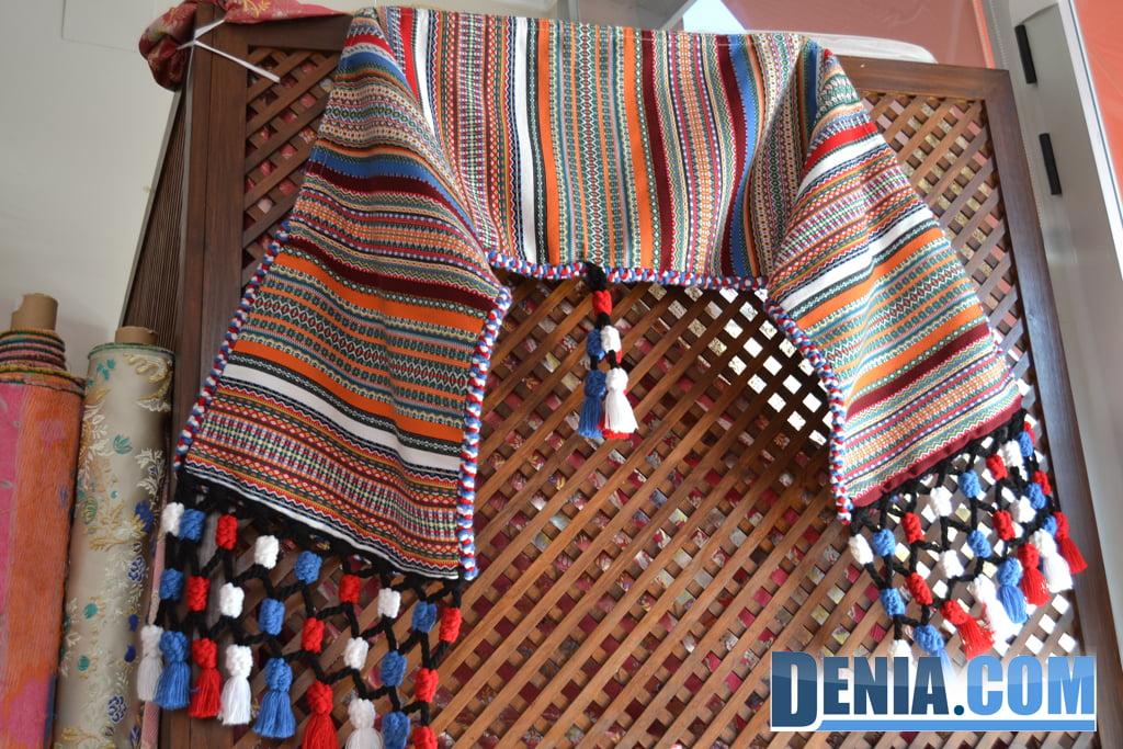Fallero blankets in Dénia - L'Espolí