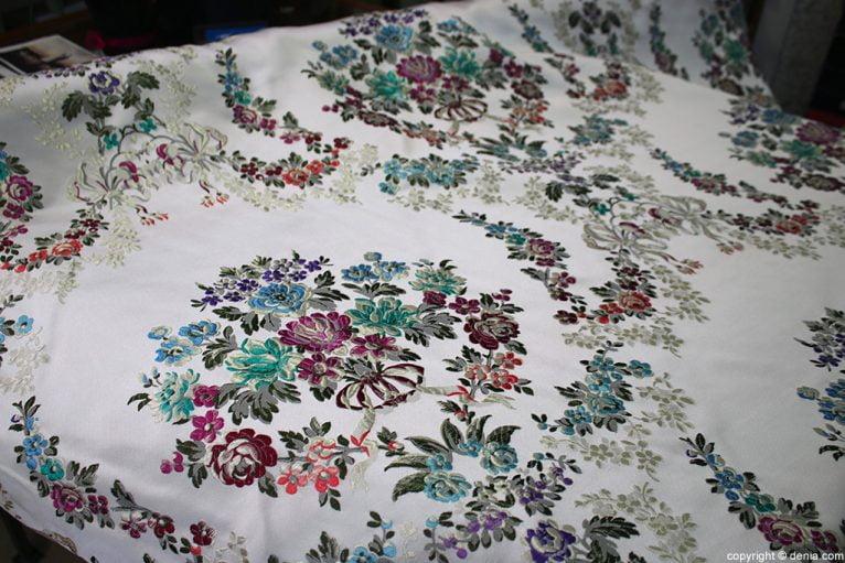 L'espolí white fabric