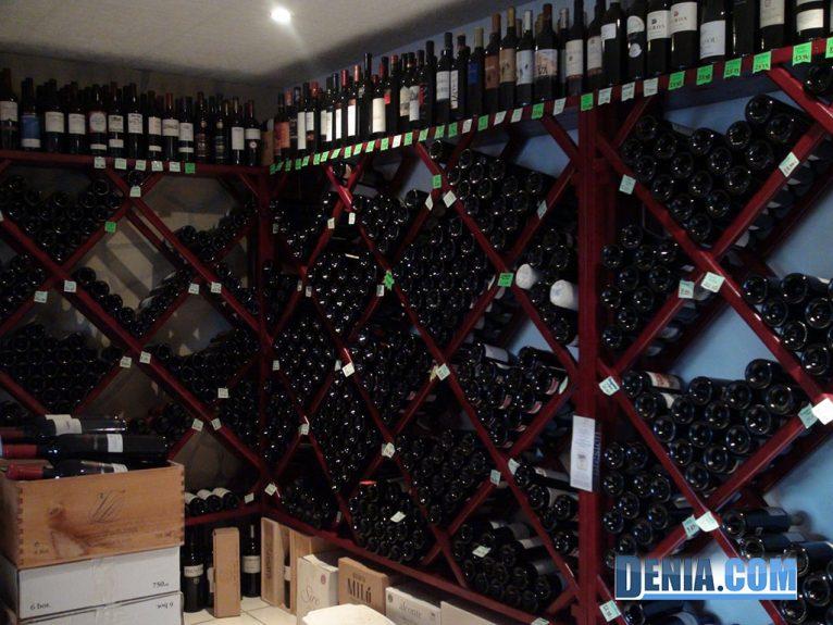 La Bodega de Luis, vins nationaux et internationaux