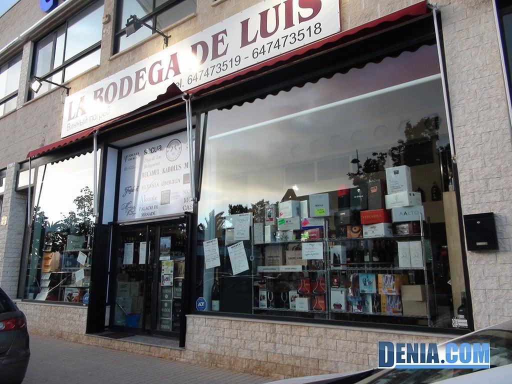 El Celler de Luis a Dénia
