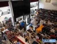 La Bodega de Luis más de 1700 botellas de vino