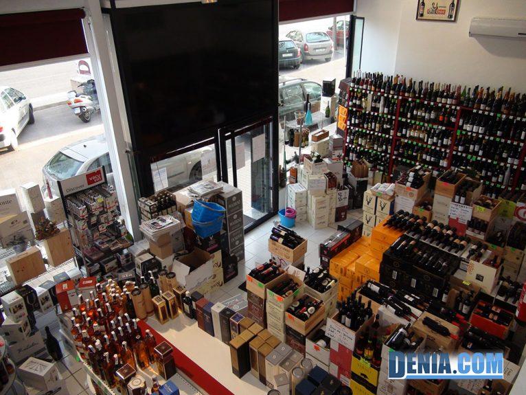 La Bodega de Luis sur des bouteilles de vin 1700