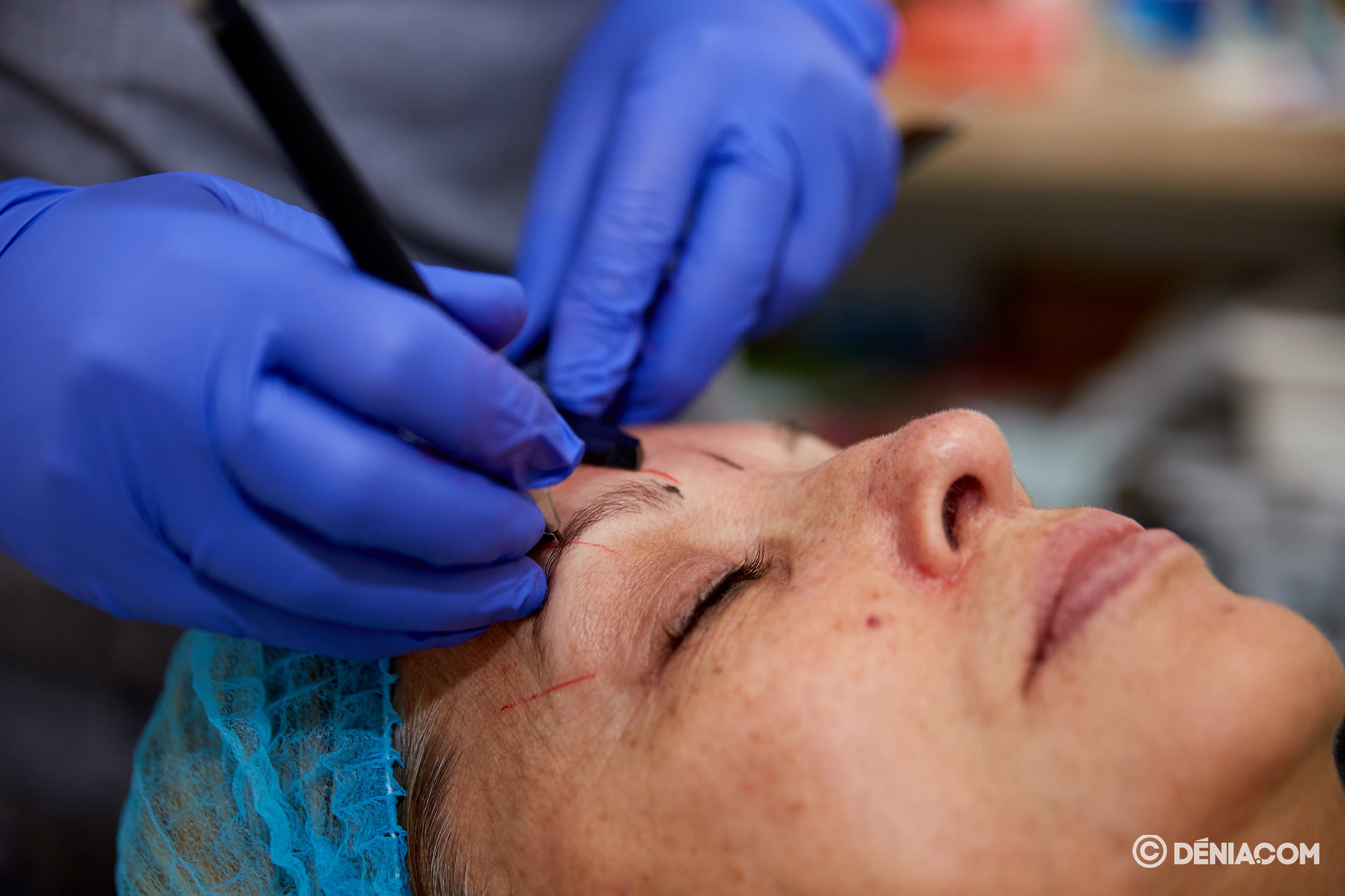 Microblading of eyebrows in Dénia - Guaraná aesthetic Center