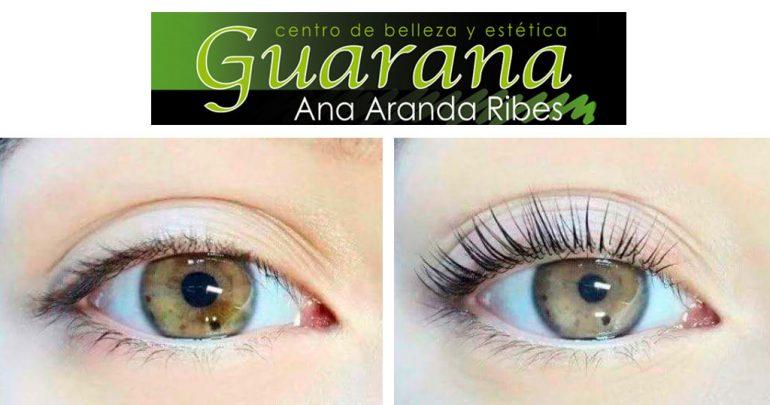Eyelash lifting draw Guaraná aesthetic center