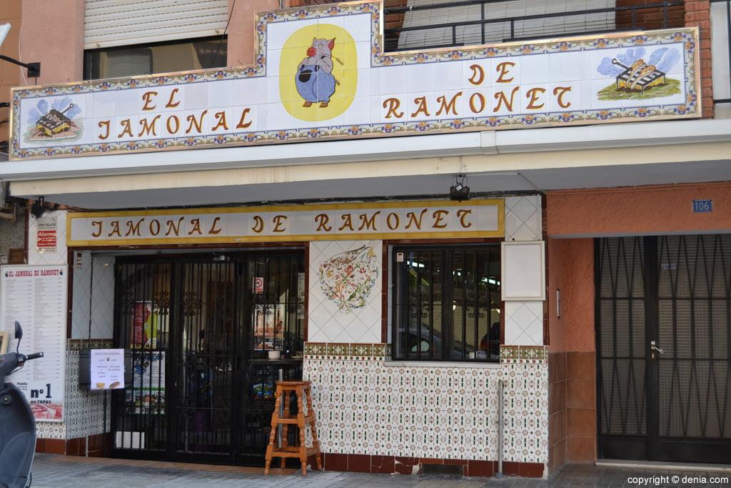 El Jamonal de Ramonet - Dénia