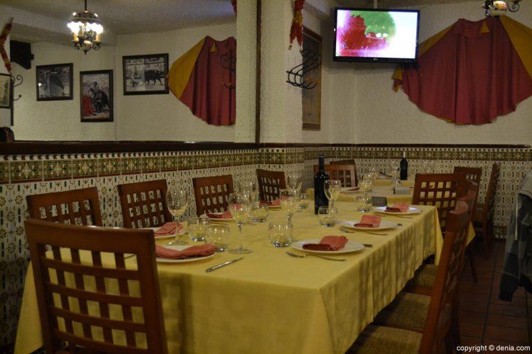 Restaurante El Jamonal de Ramonet en Dénia