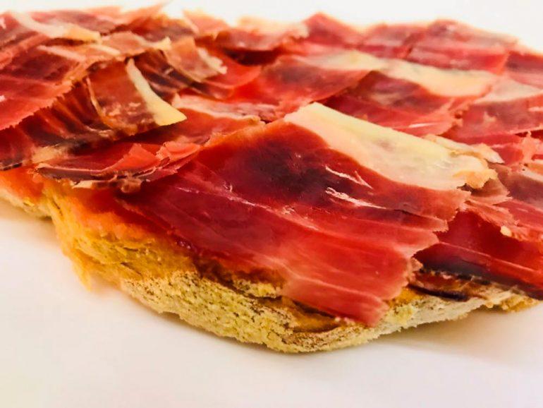 Montado catalana de jamón ibérico El Jamonal de Ramonet