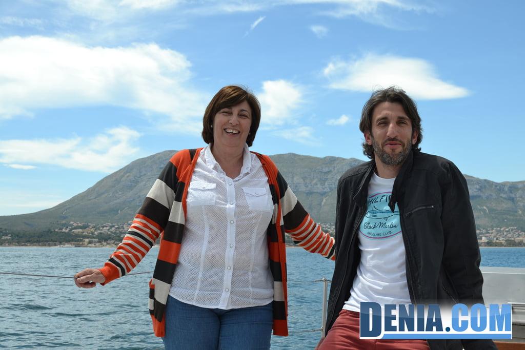 El Arctic Sunrise de Greenpeace visita Dénia 04