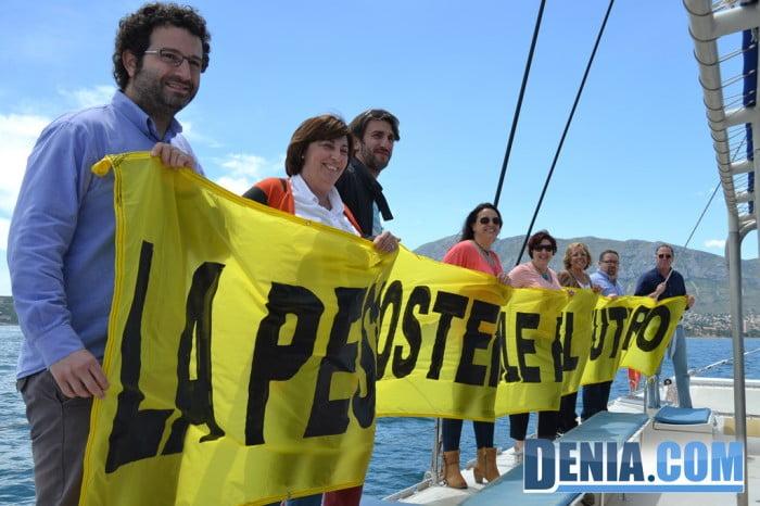 El Arctic Sunrise de Greenpeace visita Dénia 09