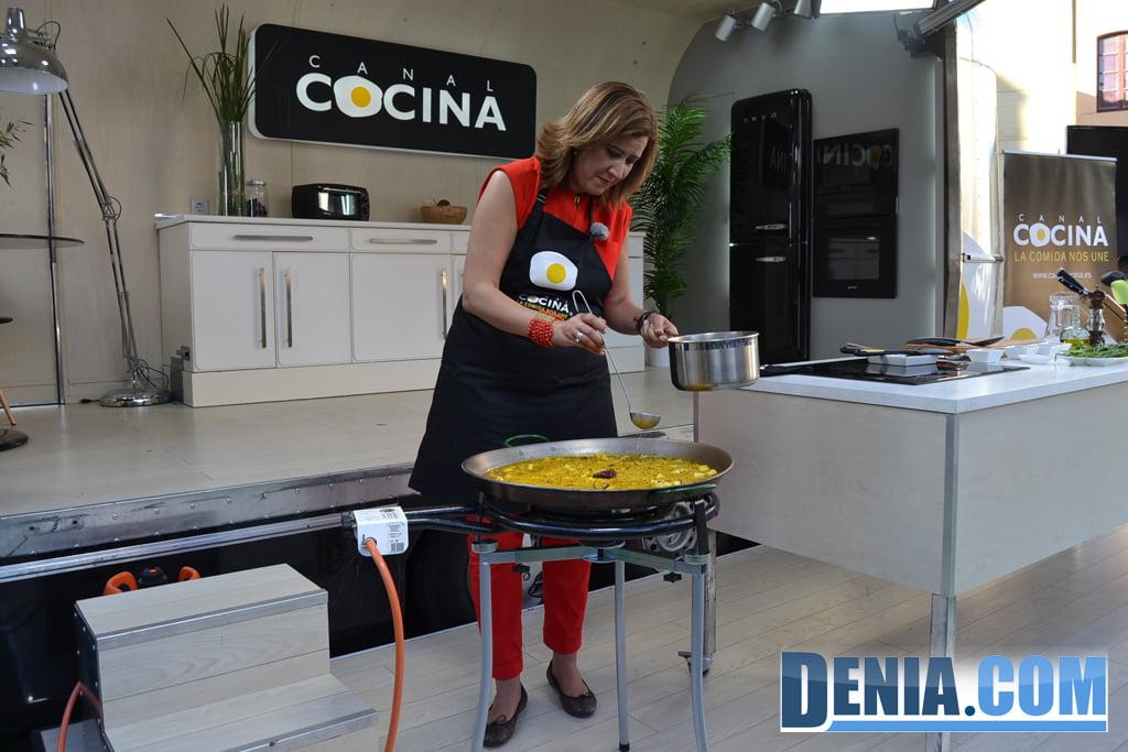 El canal cocina graba en d nia uno de sus programas 15 for Canal cocina cocina de familia