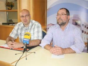 Josep Crespo y Josep Fornés hablan sobre el colegio de La Xara