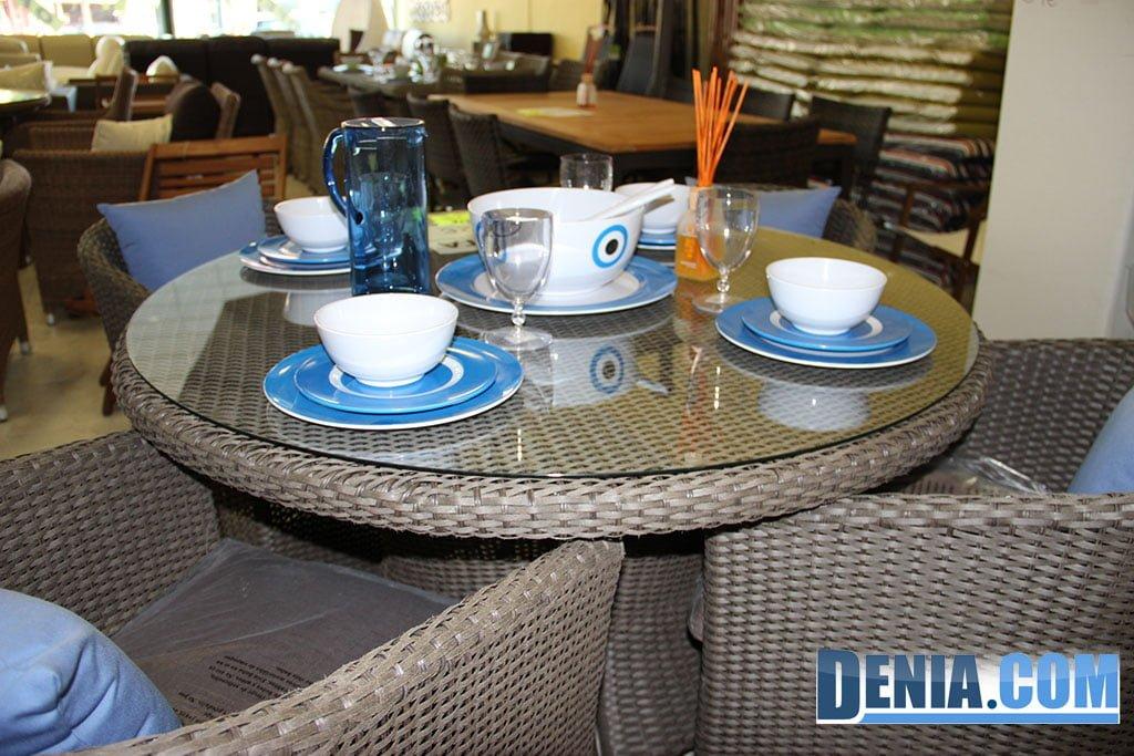Mobelsol d nia conjunto mesa y sillas de exterior d - Conjunto mesa y sillas exterior ...