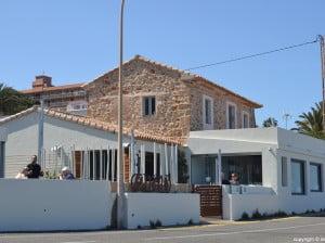 Restaurante Ca Nano en el final de Les Rotes