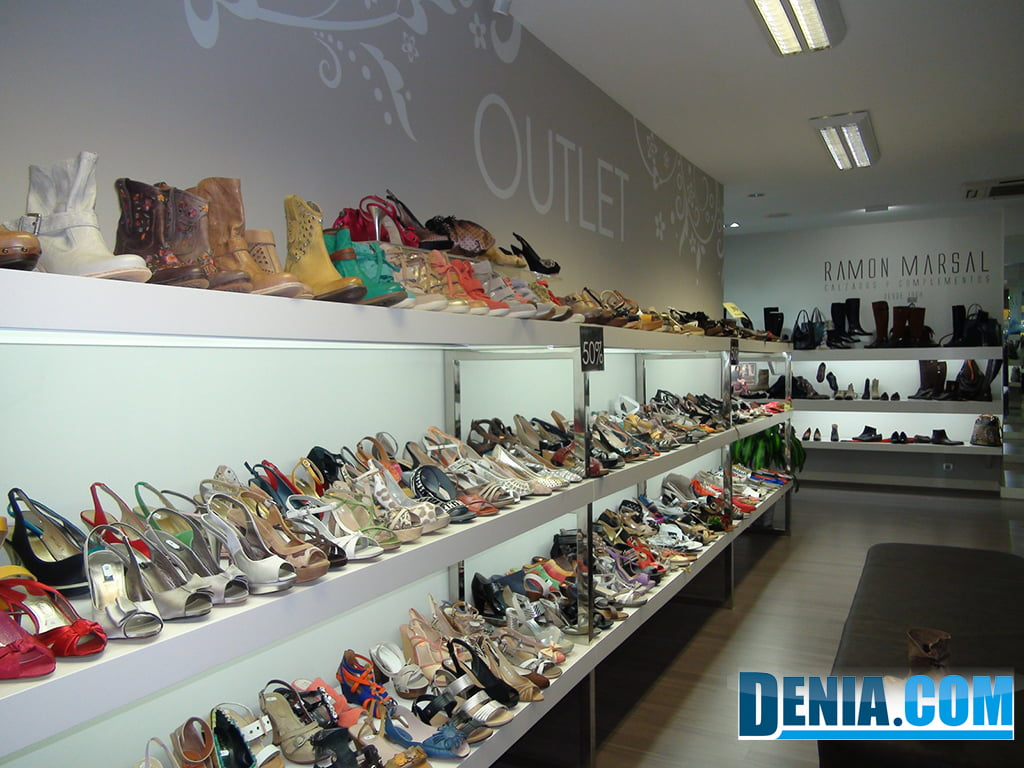 Ramón Marsal footwear, outlet zone
