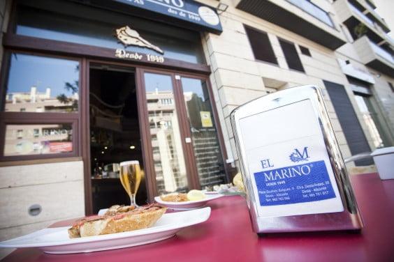 Cerveza gratis entre las 19 y las 20 horas en El Marino