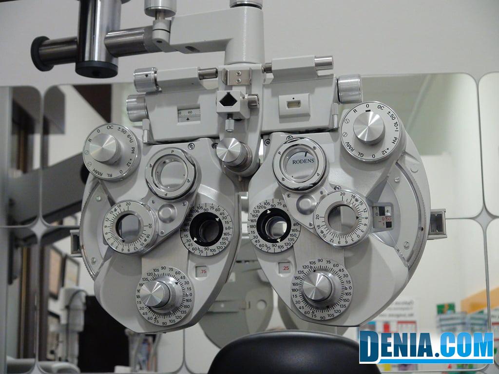 Delamar Óptics, graduación de la vista