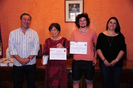 gagnants 2 de la nouvelle concurrence du ministère de la Jeunesse et maire de Deni