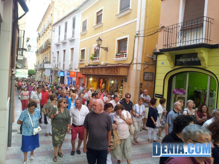 Manifestación Federación de Asociaciones de Vecinos de Dénia, 27 de junio  II