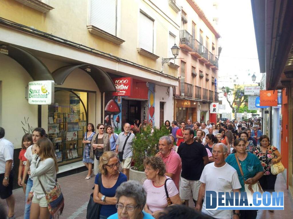 Manifestación Federación de Asociaciones de Vecinos de Dénia, 27 de junio III